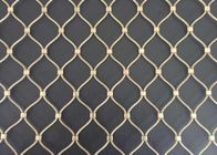 Flexible Diamond Shape 7x7 Stainless Steel Rope Net Cable Mesh Fencing